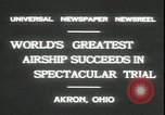 Image of Akron airship Akron Ohio USA, 1931, second 7 stock footage video 65675059118