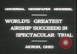 Image of Akron airship Akron Ohio USA, 1931, second 8 stock footage video 65675059118
