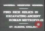 Image of archaeologists Saint Albans England, 1931, second 3 stock footage video 65675059119
