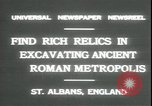 Image of archaeologists Saint Albans England, 1931, second 6 stock footage video 65675059119