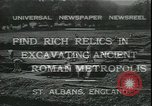 Image of archaeologists Saint Albans England, 1931, second 7 stock footage video 65675059119