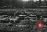 Image of archaeologists Saint Albans England, 1931, second 10 stock footage video 65675059119