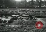 Image of archaeologists Saint Albans England, 1931, second 12 stock footage video 65675059119