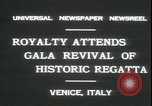 Image of Regatta Storica Venice Italy, 1931, second 2 stock footage video 65675059120