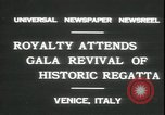 Image of Regatta Storica Venice Italy, 1931, second 3 stock footage video 65675059120
