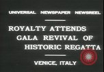 Image of Regatta Storica Venice Italy, 1931, second 4 stock footage video 65675059120