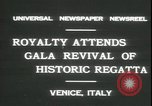 Image of Regatta Storica Venice Italy, 1931, second 5 stock footage video 65675059120
