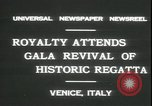 Image of Regatta Storica Venice Italy, 1931, second 7 stock footage video 65675059120