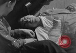 Image of burial at sea Pacific Ocean, 1945, second 7 stock footage video 65675059123