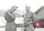 Image of American medical officer Honshu Japan, 1945, second 1 stock footage video 65675059130