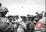 Image of General MacArthur Balikpapan Borneo Indonesia, 1945, second 3 stock footage video 65675059138
