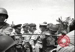 Image of General MacArthur Balikpapan Borneo Indonesia, 1945, second 4 stock footage video 65675059138
