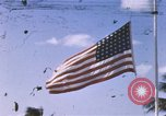 Image of United States flag at World War 2 cemetery Philippines, 1945, second 1 stock footage video 65675059142