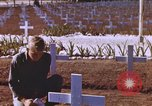 Image of United States flag at World War 2 cemetery Philippines, 1945, second 11 stock footage video 65675059142