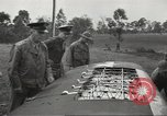 Image of Lieutenant General Walter Krueger Queensland Australia, 1943, second 8 stock footage video 65675059170