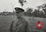 Image of Lieutenant General Walter Krueger Queensland Australia, 1943, second 10 stock footage video 65675059170