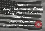 Image of United States soldiers United States USA, 1945, second 11 stock footage video 65675059186