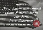 Image of United States soldiers United States USA, 1945, second 12 stock footage video 65675059186