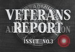 Image of World War II veterans Washington DC USA, 1947, second 7 stock footage video 65675059199