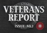 Image of World War II veterans Washington DC USA, 1947, second 9 stock footage video 65675059199