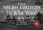 Image of Tuskegee Institute Tuskegee Alabama USA, 1943, second 7 stock footage video 65675059203