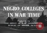 Image of Tuskegee Institute Tuskegee Alabama USA, 1943, second 9 stock footage video 65675059203