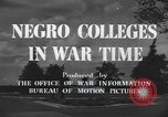 Image of Tuskegee Institute Tuskegee Alabama USA, 1943, second 10 stock footage video 65675059203