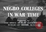 Image of Tuskegee Institute Tuskegee Alabama USA, 1943, second 11 stock footage video 65675059203