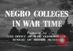Image of Tuskegee Institute Tuskegee Alabama USA, 1943, second 12 stock footage video 65675059203