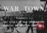 Image of war industry in World War 2 Mobile Alabama USA, 1943, second 9 stock footage video 65675059206