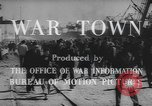 Image of war industry in World War 2 Mobile Alabama USA, 1943, second 10 stock footage video 65675059206