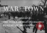 Image of war industry in World War 2 Mobile Alabama USA, 1943, second 12 stock footage video 65675059206