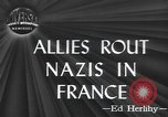 Image of American soldiers Saint Lo France, 1944, second 1 stock footage video 65675059236