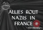 Image of American soldiers Saint Lo France, 1944, second 2 stock footage video 65675059236