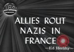 Image of American soldiers Saint Lo France, 1944, second 3 stock footage video 65675059236