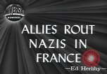 Image of American soldiers Saint Lo France, 1944, second 5 stock footage video 65675059236