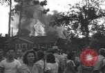 Image of Two P-51 fighter planes crash into homes in Jacksonville, Florida Jacksonville Florida USA, 1944, second 8 stock footage video 65675059237
