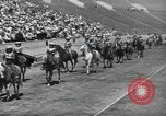 Image of rodeo with Gloria Jean Los Angeles California USA, 1944, second 4 stock footage video 65675059242