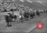 Image of rodeo with Gloria Jean Los Angeles California USA, 1944, second 6 stock footage video 65675059242