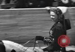Image of rodeo with Gloria Jean Los Angeles California USA, 1944, second 8 stock footage video 65675059242