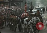 Image of Funeral of President Franklin Delano Roosevelt Washington DC USA, 1945, second 12 stock footage video 65675059246