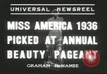 Image of Miss America Atlantic City New Jersey USA, 1936, second 4 stock footage video 65675059250