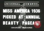 Image of Miss America Atlantic City New Jersey USA, 1936, second 6 stock footage video 65675059250