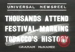 Image of National Tobacco Festival South Boston Virginia USA, 1936, second 1 stock footage video 65675059257