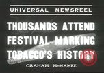 Image of National Tobacco Festival South Boston Virginia USA, 1936, second 2 stock footage video 65675059257