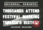 Image of National Tobacco Festival South Boston Virginia USA, 1936, second 3 stock footage video 65675059257