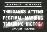 Image of National Tobacco Festival South Boston Virginia USA, 1936, second 4 stock footage video 65675059257