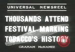 Image of National Tobacco Festival South Boston Virginia USA, 1936, second 6 stock footage video 65675059257