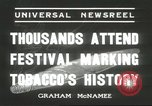 Image of National Tobacco Festival South Boston Virginia USA, 1936, second 8 stock footage video 65675059257