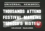 Image of National Tobacco Festival South Boston Virginia USA, 1936, second 9 stock footage video 65675059257